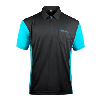 Polo Target - Coolplay 3 black-aqua