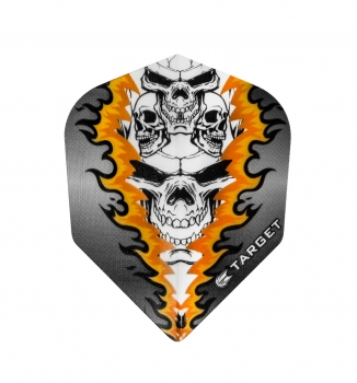 Vision No6 Orange Quad Skull Bagged
