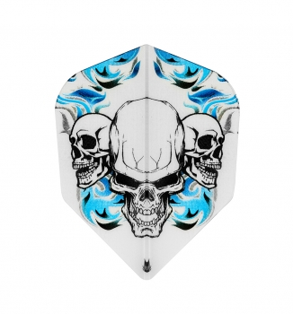 Vision No6 Skull White Blue Bagged