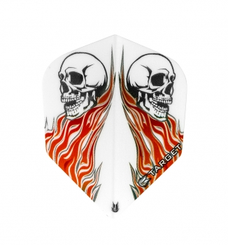 Vision No6 Skull White Red Bagged