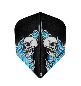 Vision No6 Skull Black Blue Bagged