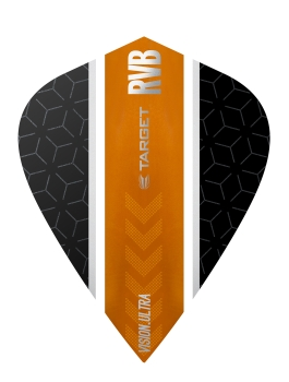 RVB Vision Ultra Black/Orange - Stripe - Kite