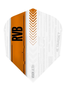 RVB Vision Ultra Flights NO6 White/Orange