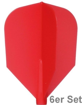 Cosmo Fit Flights Shape Red 6er Set