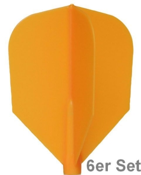 Cosmo Fit Flights Shape Orange 6er Set