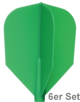 Cosmo Fit Flights Shape Green 6er Set