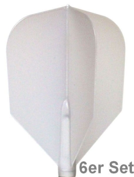 Cosmo Fit Flights Shape N-White 6er Set