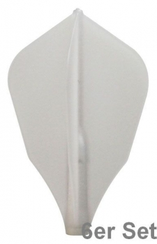 Cosmo Fit Flights W-Shape N-White 6er Set