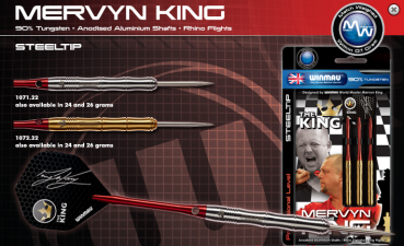 Mervyn King - Steel Darts 22g