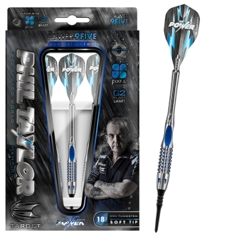 Phil Taylor 9five GEN2 Softdarts 18g