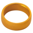 Slot Lock Ring Gold