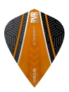 RVB Vision Ultra Flights Black/Orange - Curve - Kite