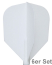 Cosmo Fit Flights Shape White 6er Set