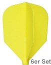 Cosmo Fit Flights Shape Yellow 6er Set