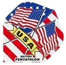 Pentathlon Standard - USA Flag